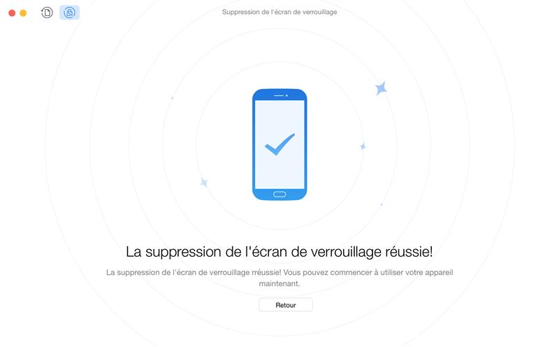 Récupération des données sur téléphone Android verrouillé – étape 3