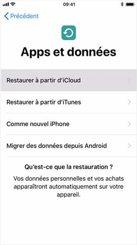 Données perdues iPhone après Màj iOS 12