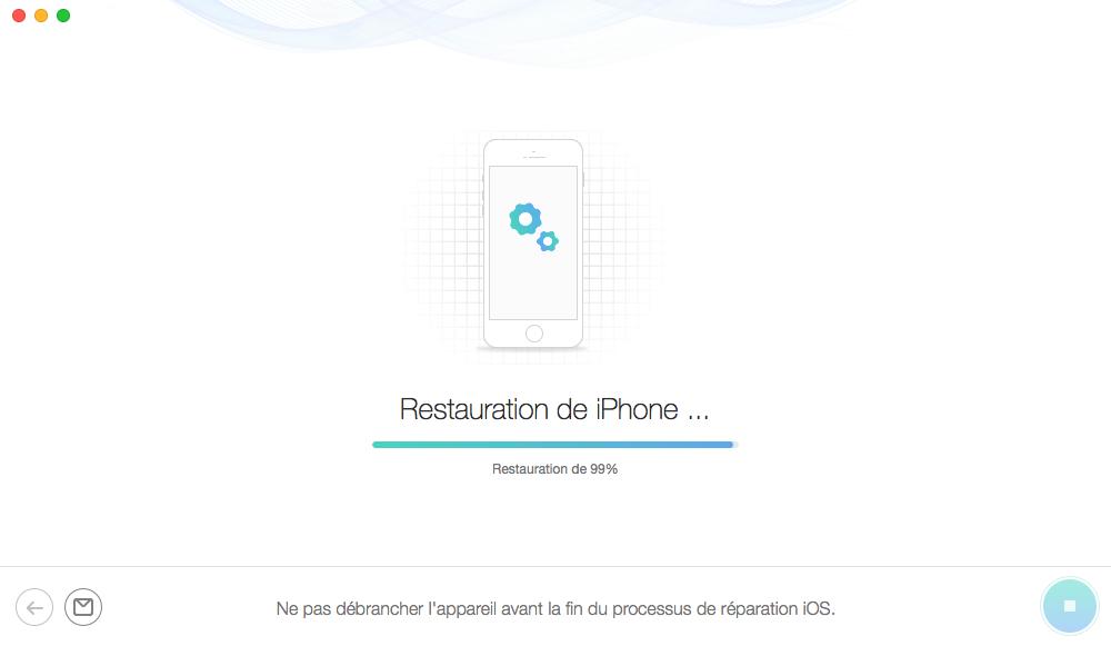 Récupérer les données depuis un iPhone éteint – étape 4