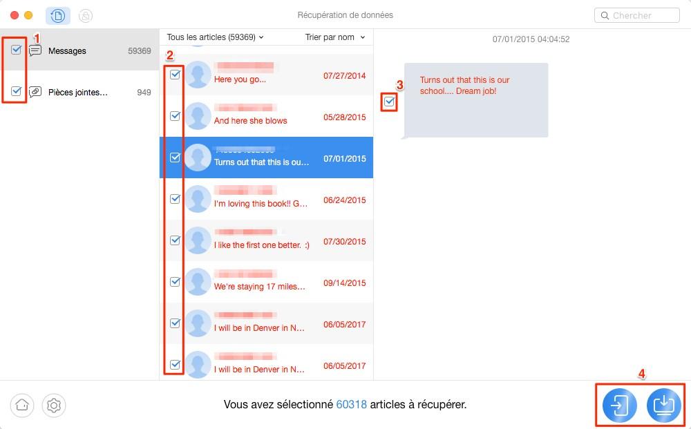 Comment récupérer les données perdues sur Motorola - étape 3
