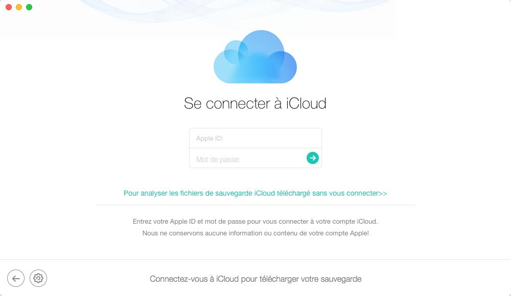 Comment récupérer les messages iPhone X depuis la sauvegarde iCloud