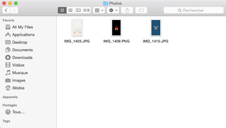 Récupération de photos supprimées iPhone terminée