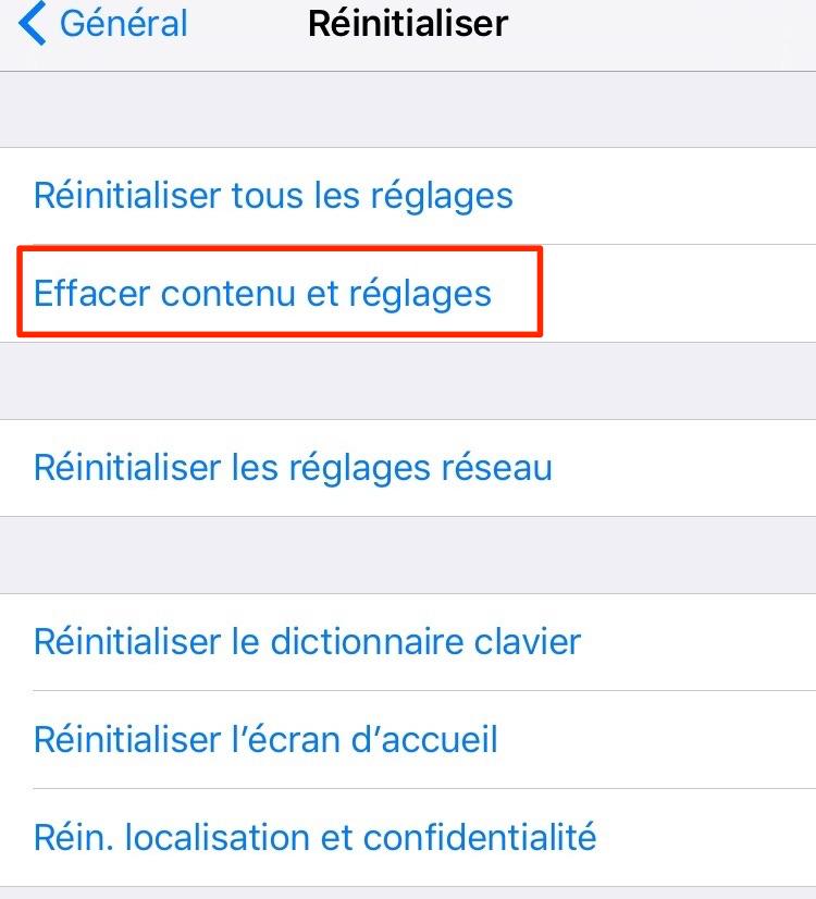 Restaurer les données perdues sur iPhone depuis iCloud