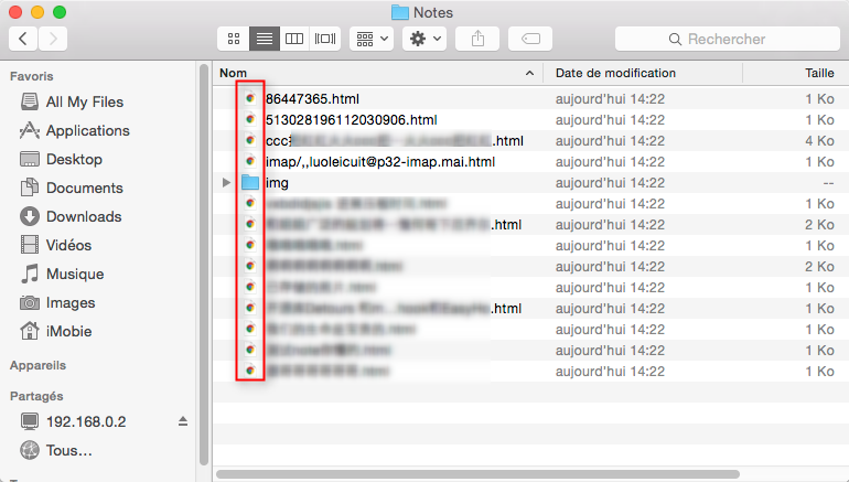 Récupérer les notes iPhone sans sauvegarde iTunes et iCloud – étape 4