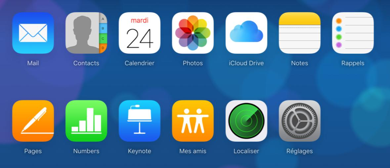 Restaurer un nouvel iPhone X/8 depuis iCloud – étape 1