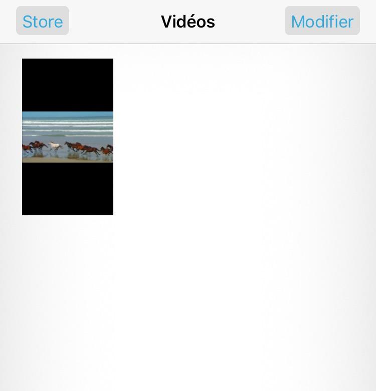 Moyen à récupérer les vidéos iPhone