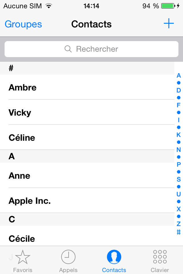 Comment restaurer les contacts iPhone avec PhoneRescue – étape 4