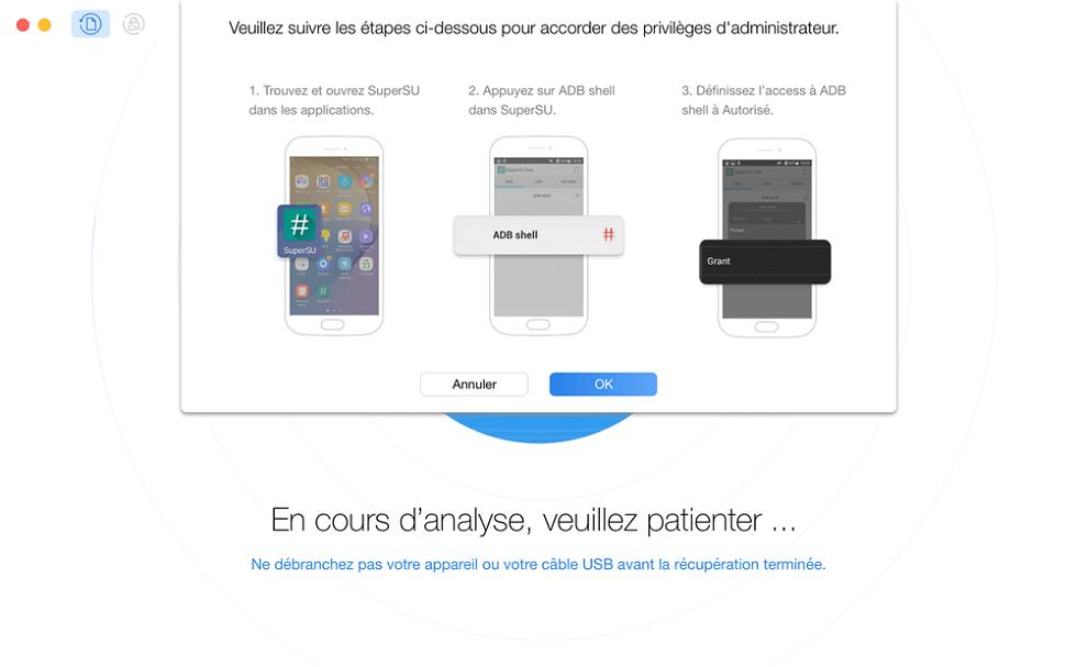 Root gratuit de l'appareil Android