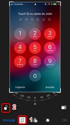 Rotation Photo iPhone