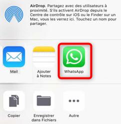 Sauvegarder les messages WhatsApp