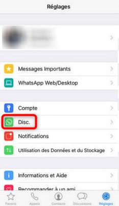 Sauvegarder les discussions WhatsApp