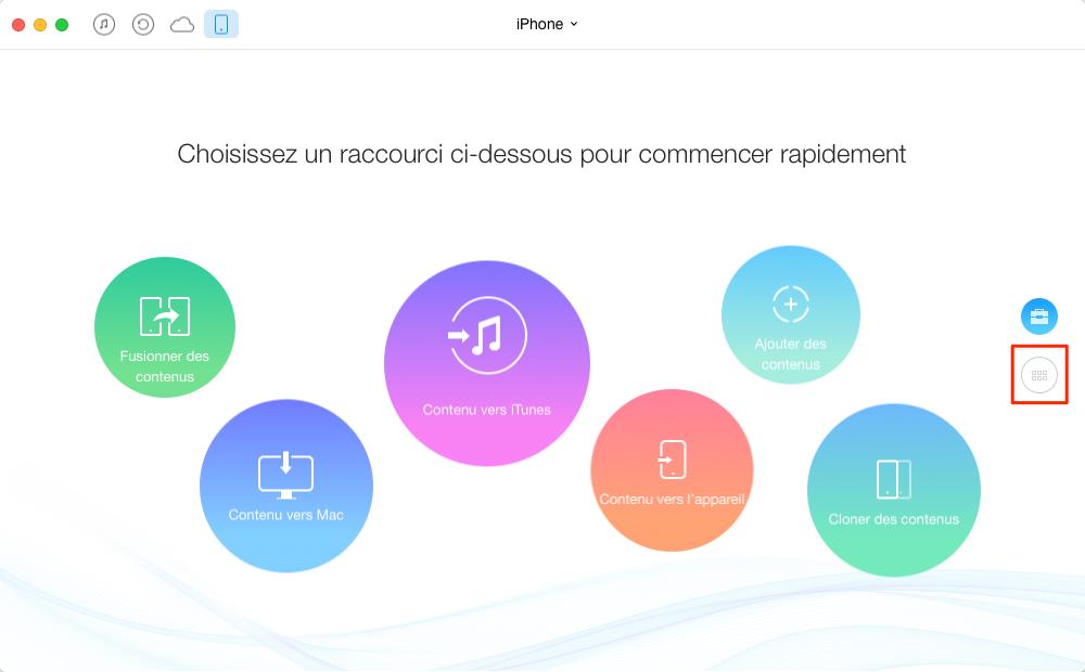 Comment transférer les notes iPhone vers Mac – étape 2