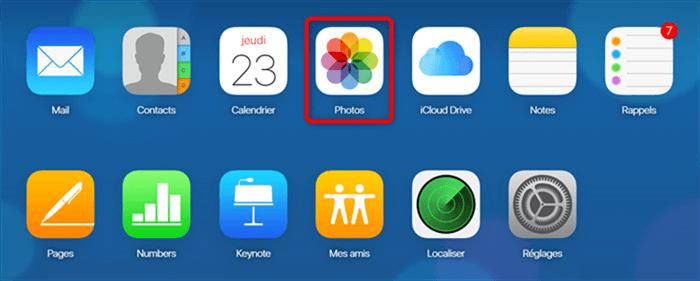 Sauvegarder les photos sur iCloud