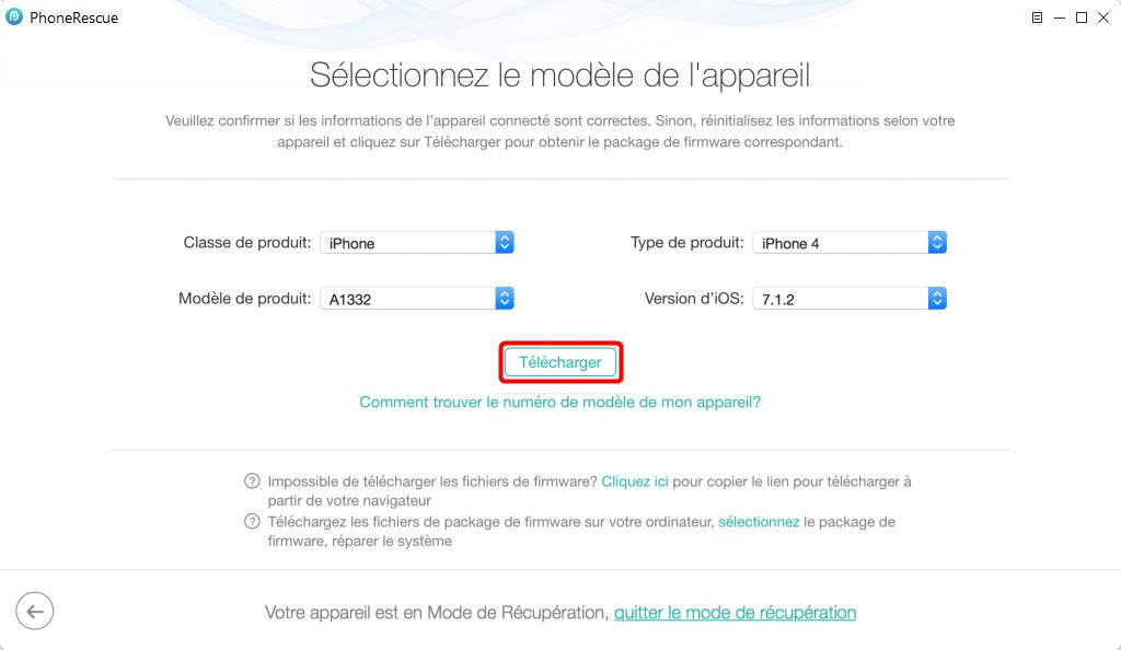 Comment réparer l'écran bleu sur iPhone 6 – étape 3