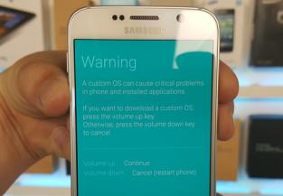 Redémarrage forcé pour Samsung bloqué