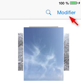 Comment supprimer les albums d'iPad – étape 1