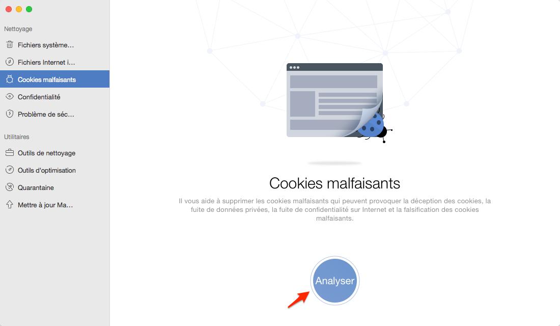 comment retirer les cookies sur mac