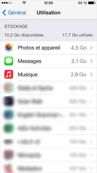 Effacer définitivement SMS sur iPhon