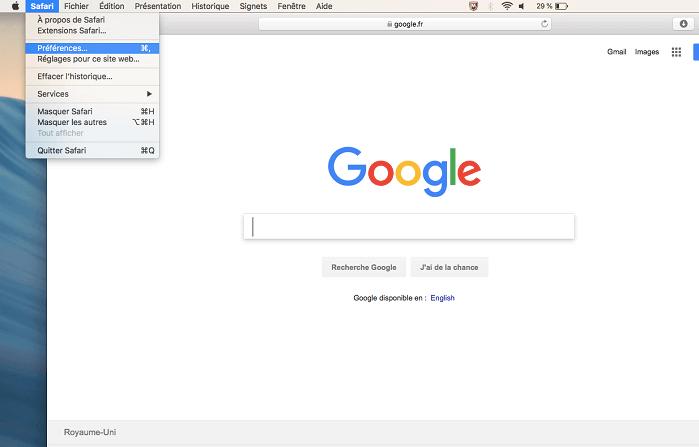 Supprimer MacKeeper sur Safari