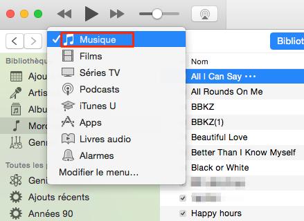 Comment effacer des chansons indésirables sur iCloud – étape 1