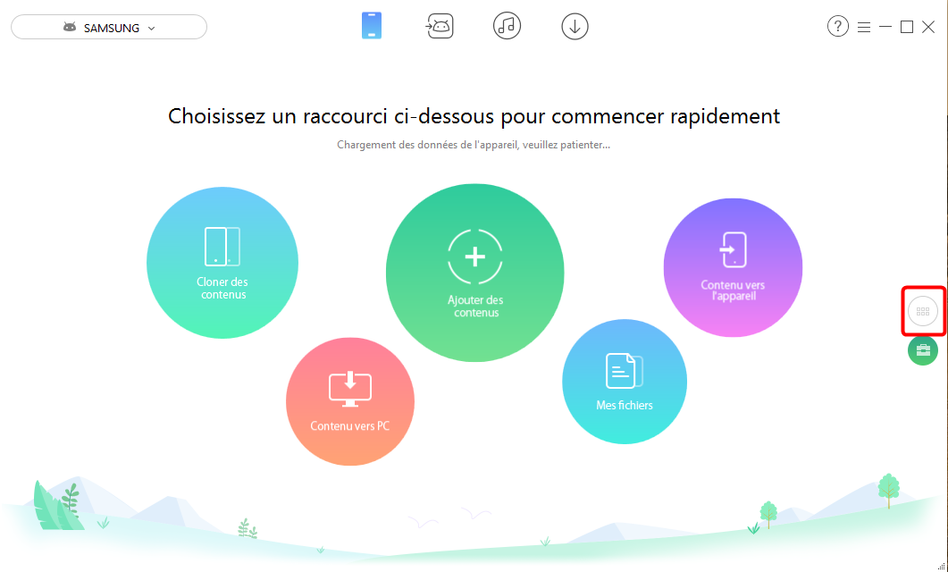 Comment synchroniser le calendrier d'Android vers Android - Étape 1