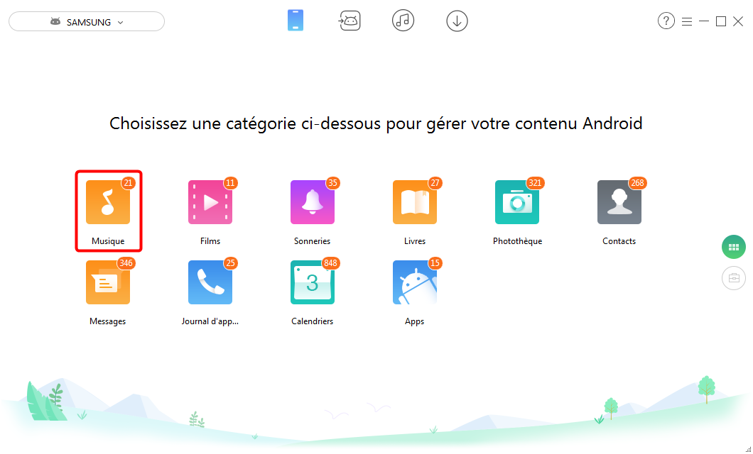Comment partager le calendrier d'Android vers Android - Étape 2