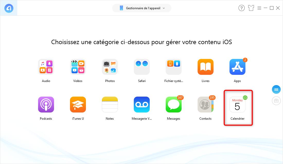 Comment synchroniser les calendriers Outlook avec iPhone - étape 2