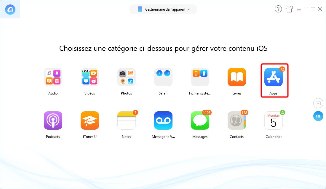 Comment downgrader Messenger sur iPhone - Étape 1