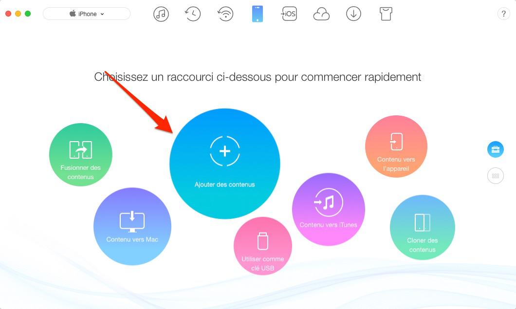 Comment sélectionner plusieurs photos sur iCloud – étape 1