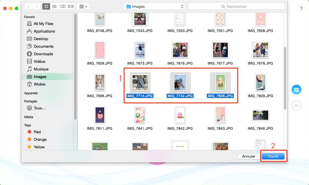 Téléchargez des photos sur iCloud vers iPhone ou d'autres iDevices - étape 2