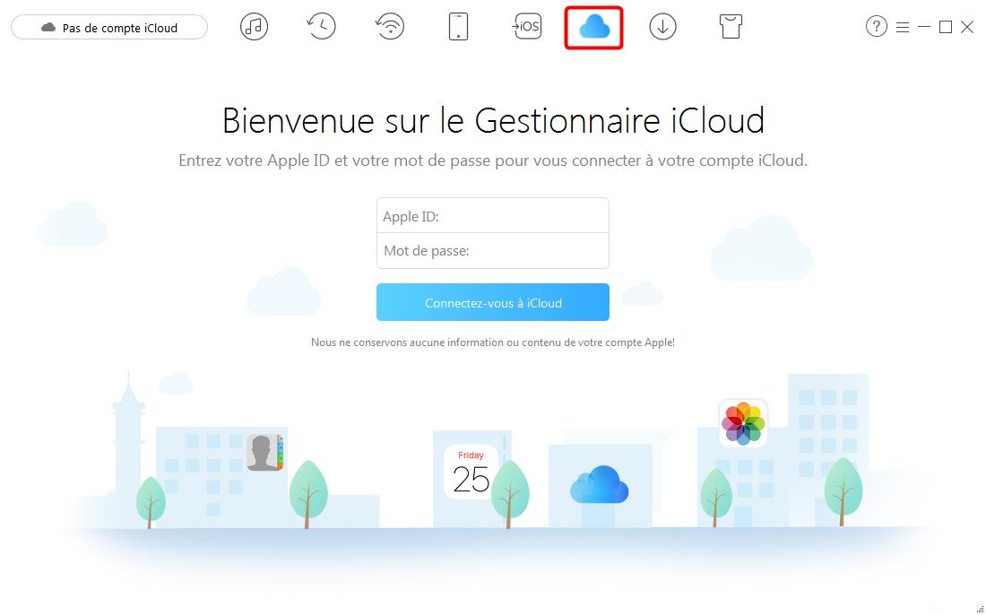 Comment télécharger des vidéos iCloud sur ordinateur – étape 1