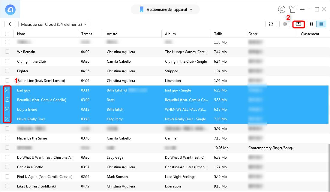 Comment télécharger de la musique sur Apple Music