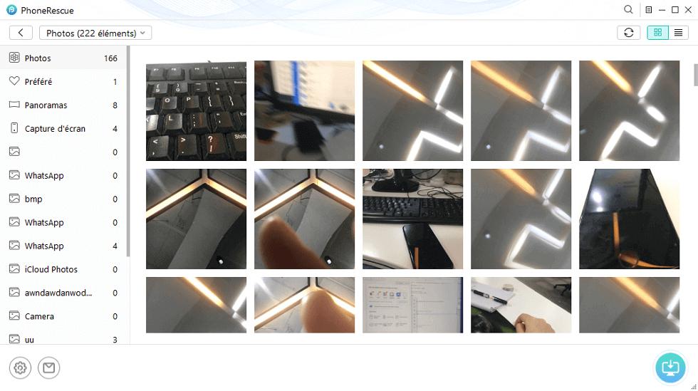 Vers ordinateur