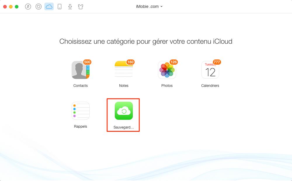 Comment télécharger des signets iCloud sur ordinateur – étape 1