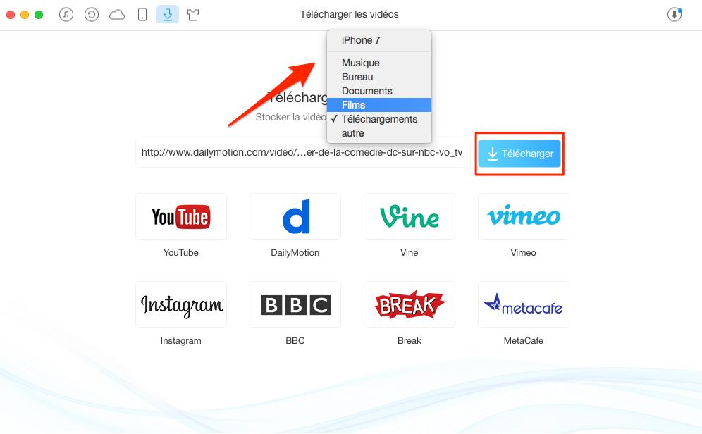 Télécharger vidéo gratuite avec facilité – étape 2