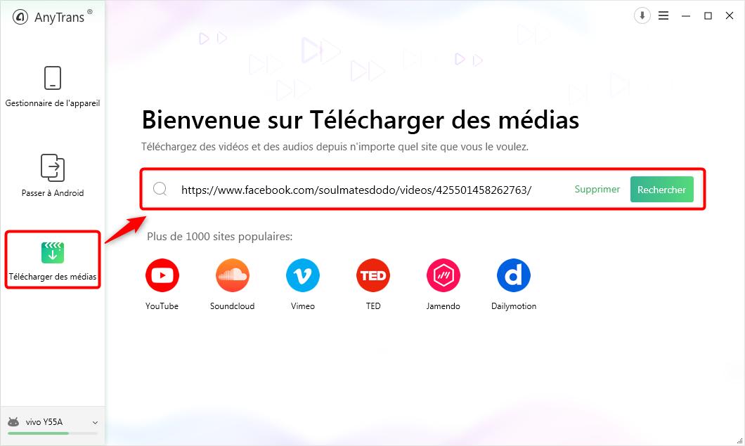 Comment télécharger les vidéos Facebook sur Android – étape 1
