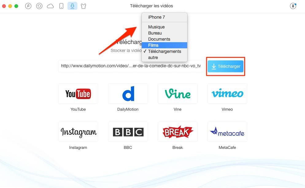 Comment télécharger Dailymotion en ligne gratuitement – étape 2