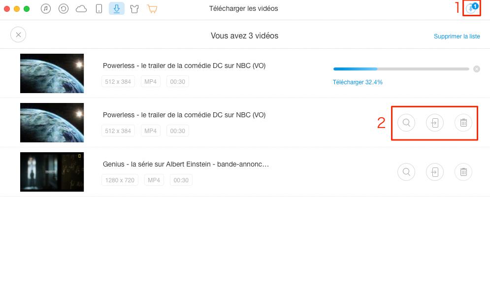 Comment télécharger les vidéos sur Dailymotion – étape 3