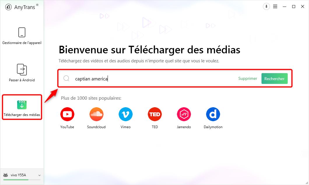 Télécharger les vidéos YouTube sur Android - étape 1