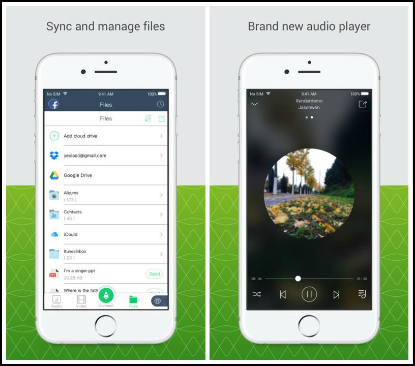 Transférer des données d'Android vers iPhone avec Xender