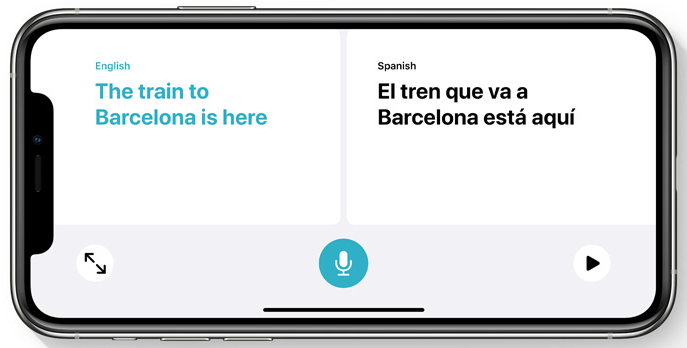 Traduire iOS 14