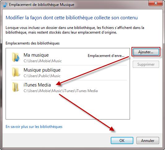 Comment transférer la musique entre Lecteur Windows Media et iTunes 5