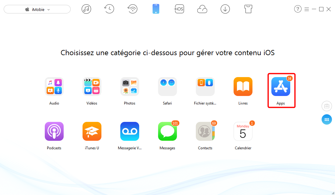 Synchroniser les applications iPhone avec iPad - étape 3
