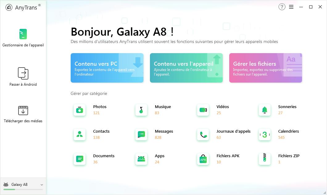 Téléchargez et installez AnyTrans pour Android sur l'ordinateur - 1