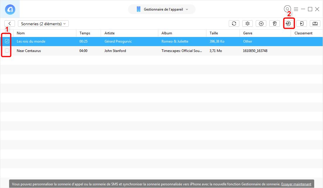 Comment copier le contenu multimédia d'un iPhone vers iTunes