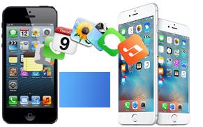 Transfert de données de l'ancien iPhone à l'iPhone 6 /6s