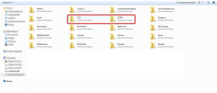 Transfert des données Xiaomi vers PC