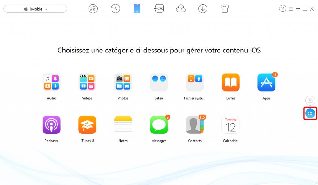 Comment copier des fichiers d'un PC vers un iPad avec AnyTrans