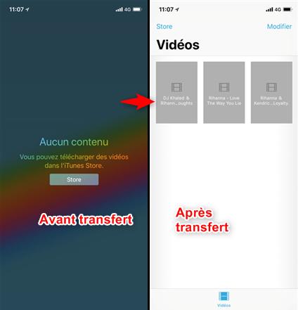 Comment transférer des fichiers sur un iPad