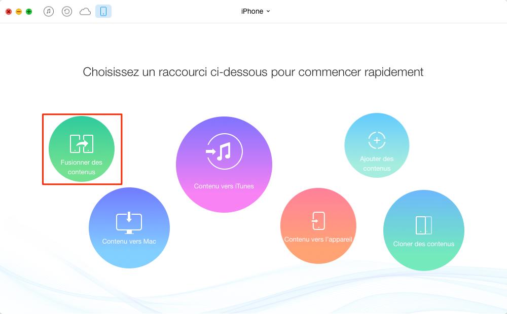 Comment transférer les iMessages iPhone vers iPhone – étape 22